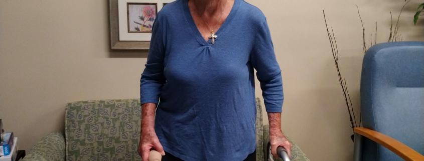 Ruth Ann Bandy chose SIRH for stroke rehab
